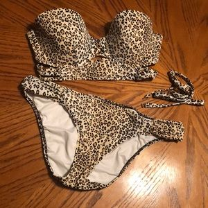 Victoria's Secret Cheetah Print Bikini